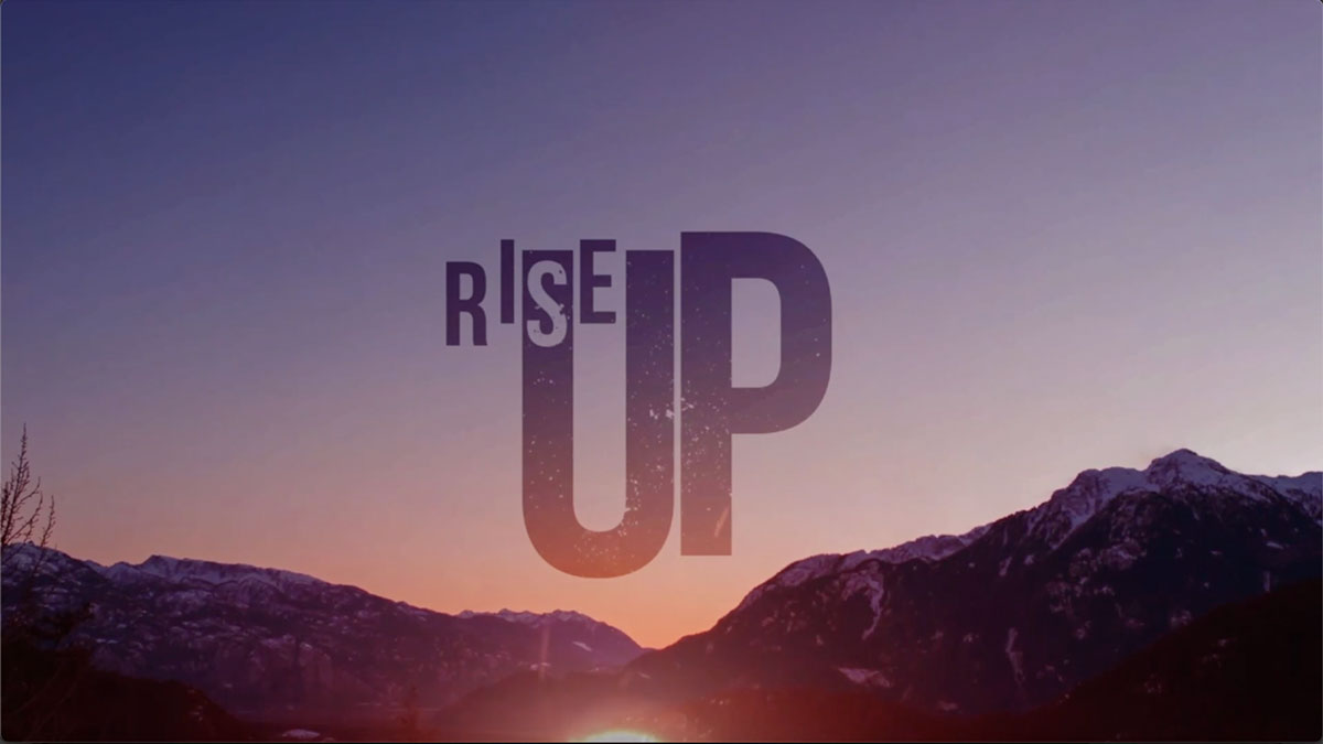 Rise Up: The Resurrection Life Image